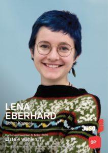 Lena Eberhard, Juso