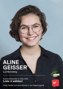 Aline Geisser, Grüne