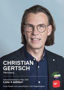 Christian Gertsch, SP