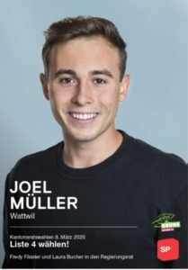 Joel Müller, SP